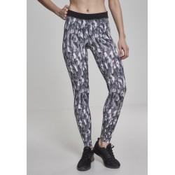 Ladies Acitve Graphic Sports Leggings